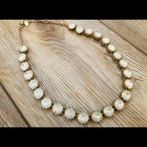 LOFT NWOT Crystal/Iridescent Statement Necklace